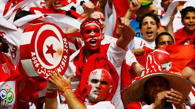 Tunisian football fans