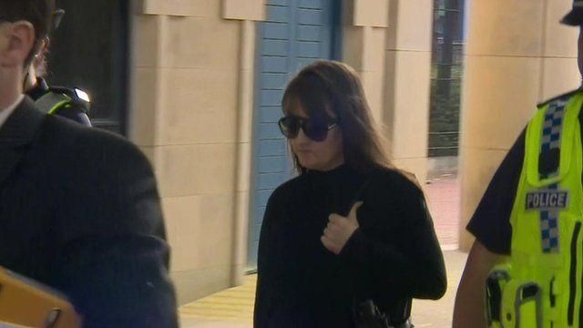 Amanda Hutton pictured during her trial