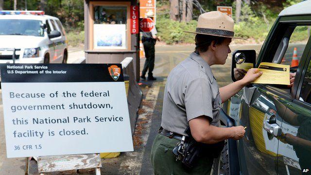 Yosemite rangers turn away tourists