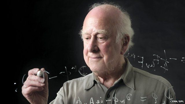 Peter Higgs (c) Cern/Science Photo Library