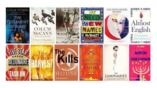 Man Booker long list