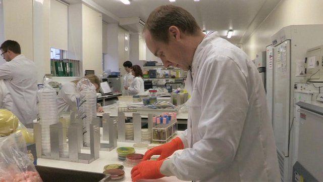 Porton Down food testing lab