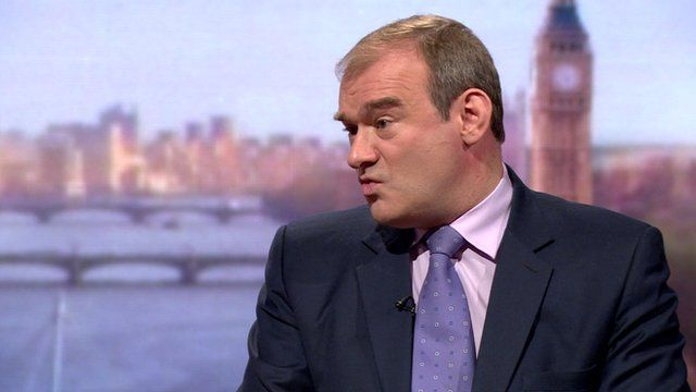 Energy Secretary Ed Davey on the Andrew Marr Show