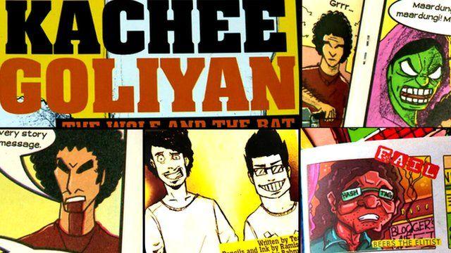 Kachee Goliyan comic book