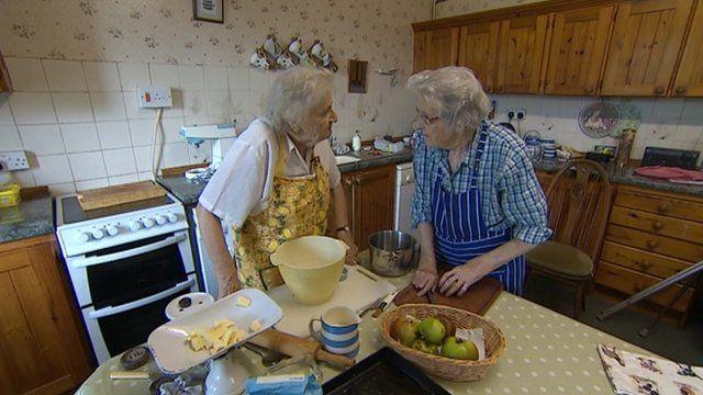 Dartmoor sisters June Smith and April Scott
