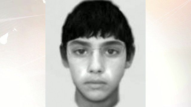 Police e-fit on Manchester sex attacker