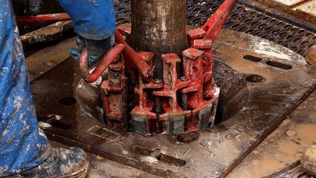 fracking facility