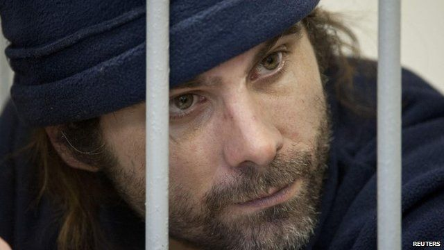 Iain Rogers - British Greenpeace activist detained by Russia