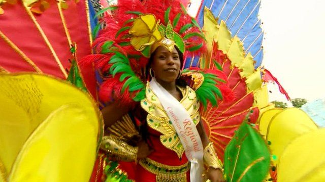Carnival performer