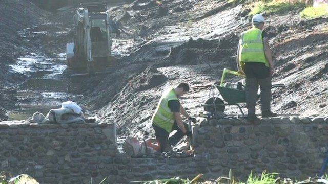 The dig near Cardiff Castle