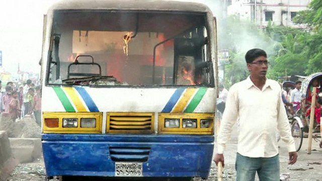 Dhaka violence