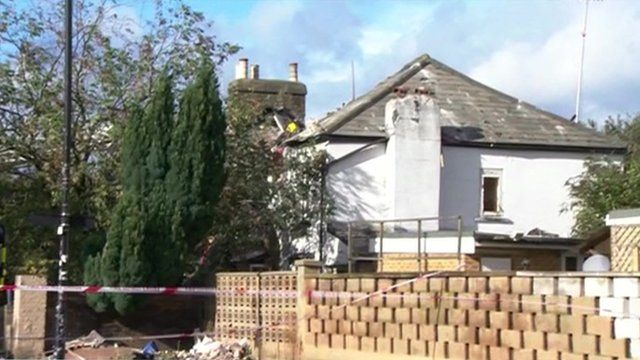 Two died in a suspected gas explosion in Hounslow