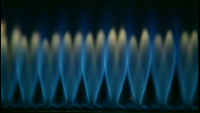 Gas flames
