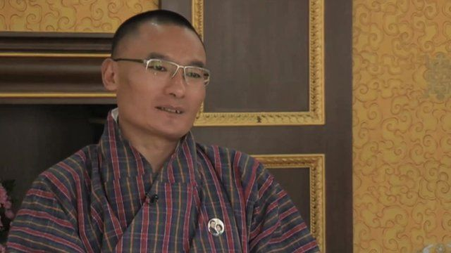 Bhutan prime minister Tshering Tobgay