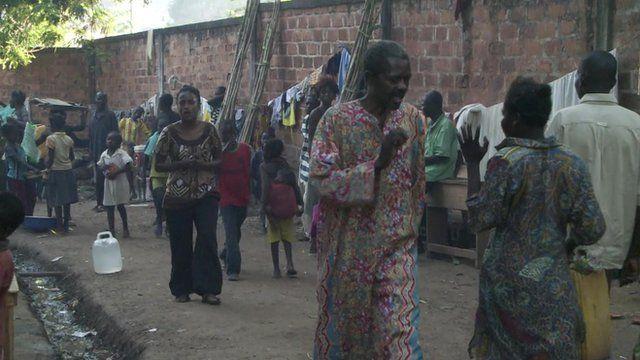 The BBC's Laeila Adjovi in Bassangoa