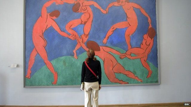 The painting Dance, by Matisse