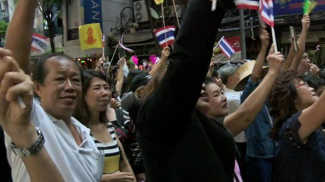 Bangkok protests
