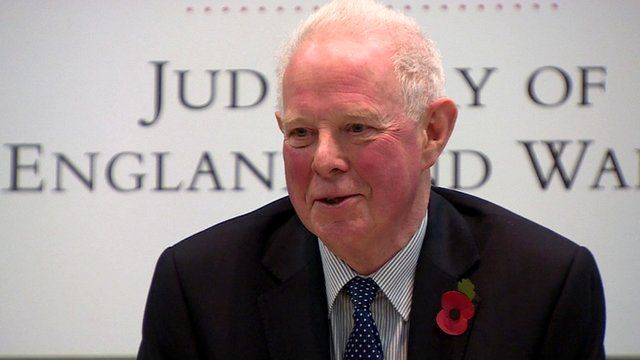The Lord Chief Justice, Lord Thomas