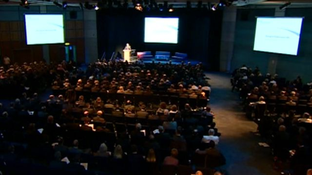 The conference took place at the ICC