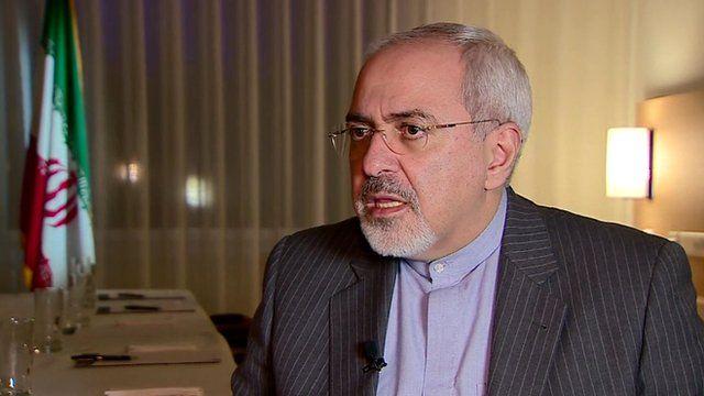 Mohamed Javad Zarif, Iran's foreign minister