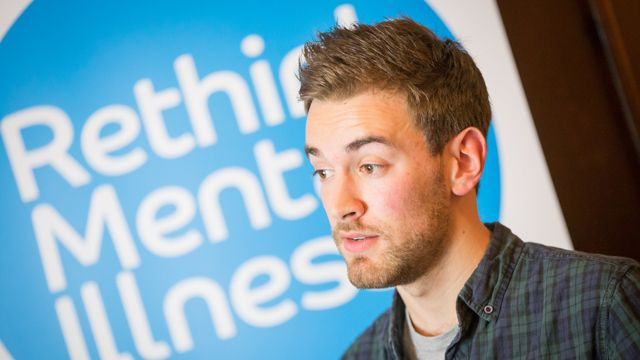 Jonny Benjamin talks to the Ouch team