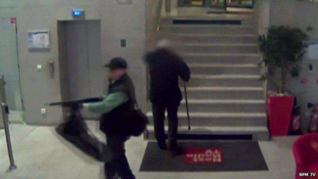 Gunman CCTV