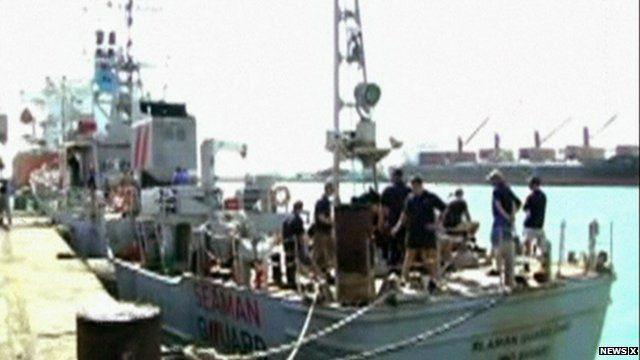 Seaman Guard patrol boat