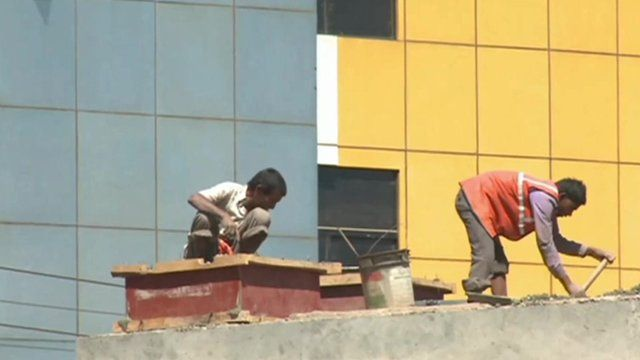 Indian workers