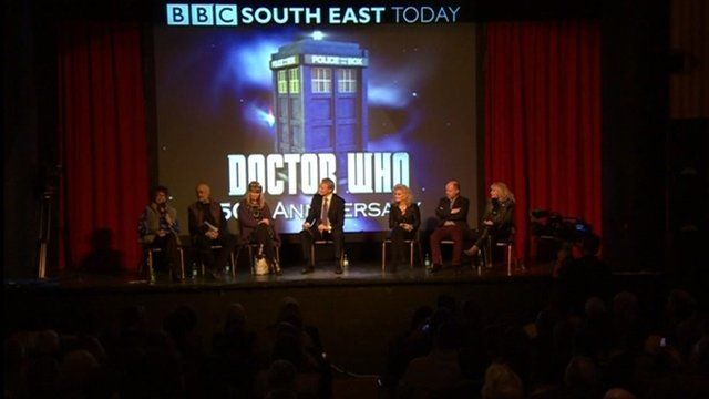 Screening of first Doctor Who episode