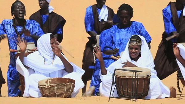 Sahel Festival musicians