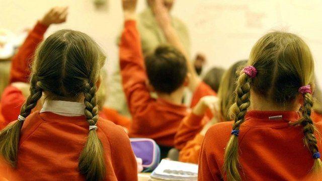 School pupils in classroom - generic image