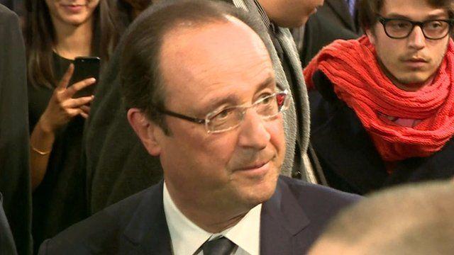 President of France, François Hollande