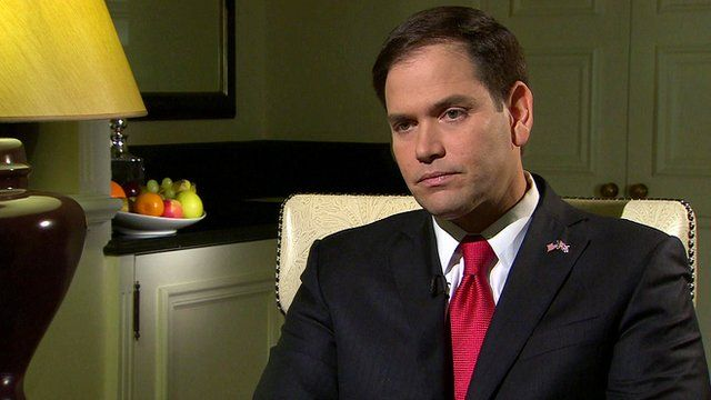 Republican Senator Marco Rubio