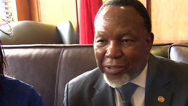 South African Deputy President Kgalema Motlanthe