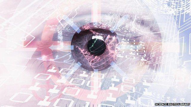 Computer surveillance conceptual art