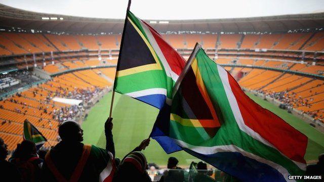 FNB stadium ahead of Mandela memorial