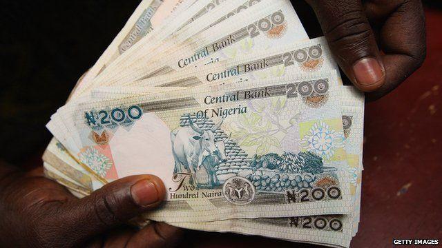 Nigerian bank notes
