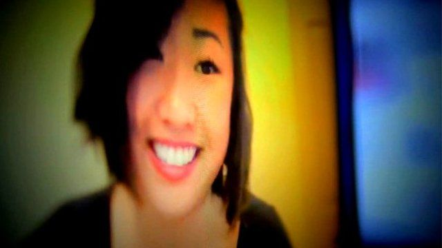 Asian American lady smiling