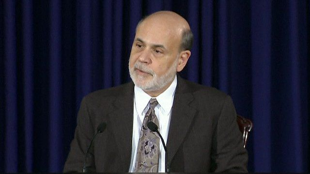 Chairman of the Federal Reserve, Ben Bernanke