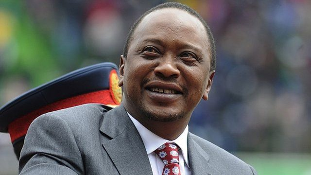 President Uhuru Kenyatta pictured on 12 December 2013