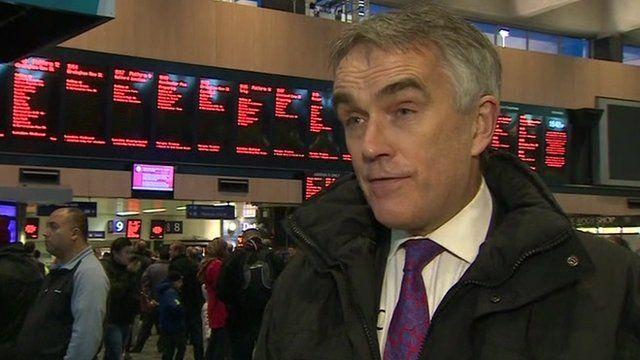 Robin Gisby, Network Rail