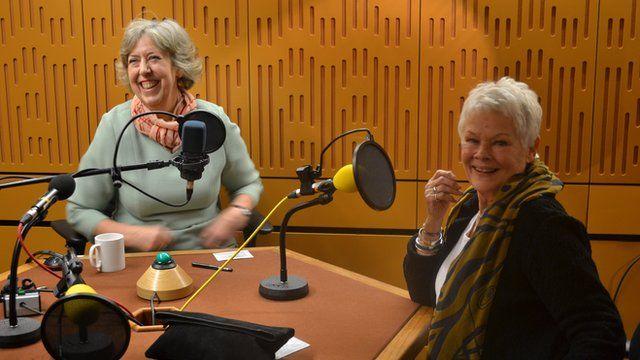 Dame Eliza Manningham-Buller and Dame Judi Dench