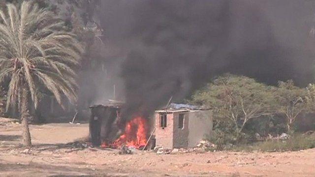 Cairo university fire