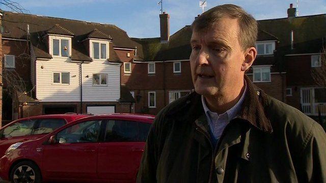 Councillor Paul Carter from Kent County Council