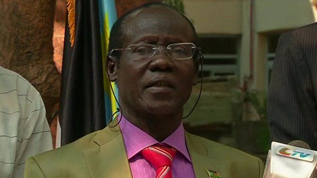 South Sudan Vice President James Wani Igga