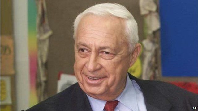 Ariel Sharon - file image