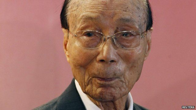 Hong Kong kung fu film pioneer Run Run Shaw dies - _72137345_tv020525782