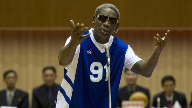 "Dennis Rodman sings ""Happy Birthday"" to Kim Jong-un"