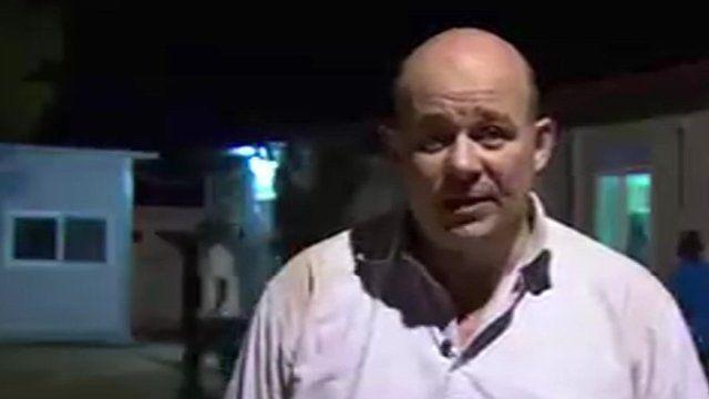 Alastair Leithead in Bentiu