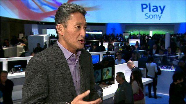 Sony chief executive Kazuo Hirai